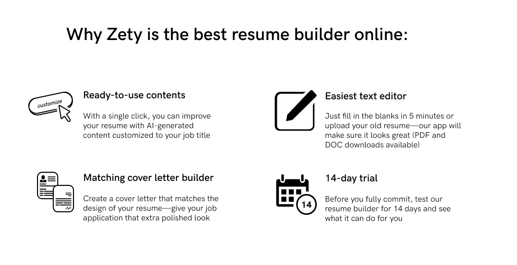 zety resume builder