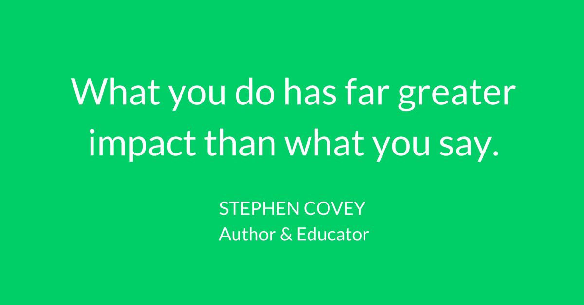 leadership quotes -- stephen covey