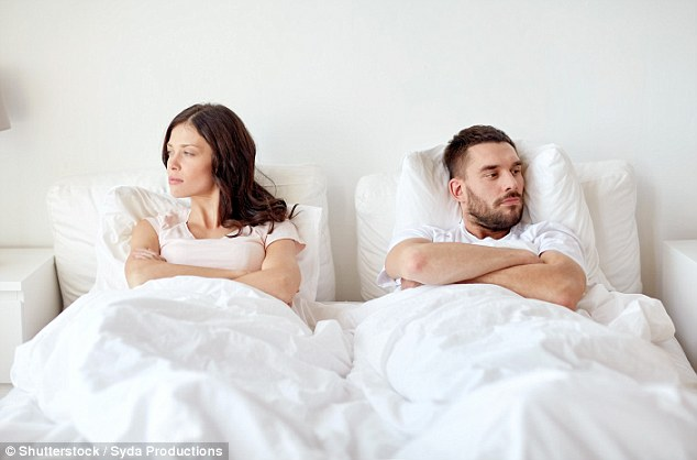 Relationship expert Sheela Mackintosh-Stewart has revealed the warning signs that your partner is headed fr the danger zone - and how to deal with them (file photo)