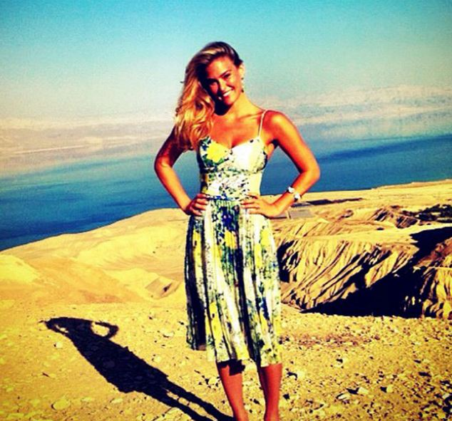 Natural beauty: Israeli model Bar Refaeli is an example for the beauty