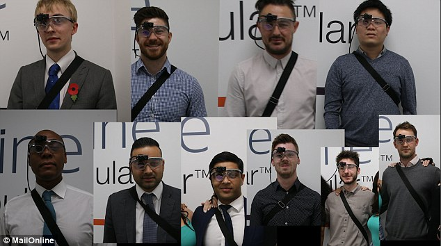 We fitted ten men the eye-tracking devices to find out which body types they liked the look of the most - with unexpected results