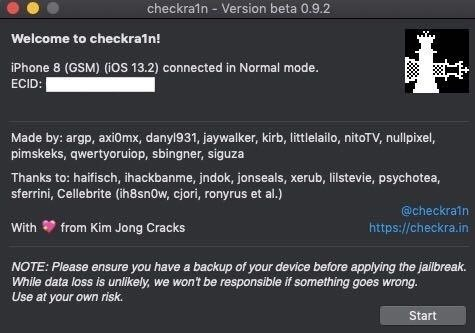 Re-Enable Checkra1n Jailbreak After Restarting Your iPhone